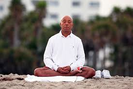 Russell Simmons Meditating