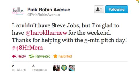 Steve Jobs compliment