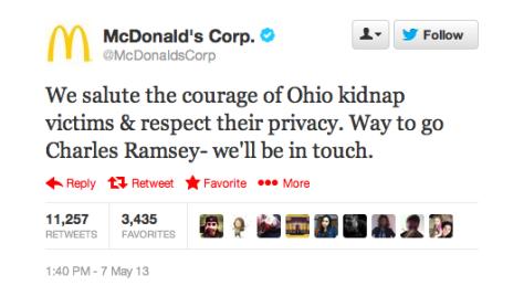 McDonald's Charles Ramsey
