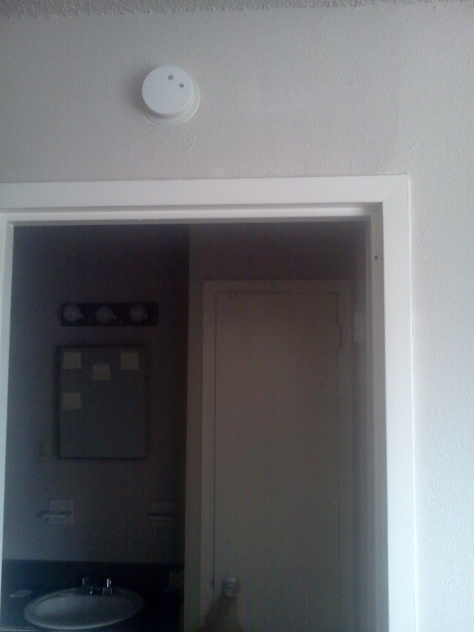 misplaced smoke detector