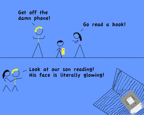 The Glowing Book