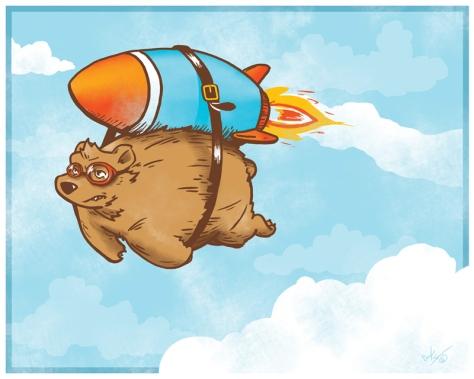 rocket bear